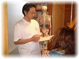 お身体の状態を確認して検査を行います